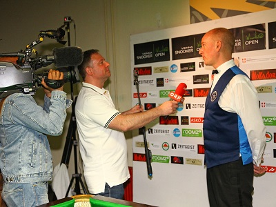 Peter Ebdon, ORF interview