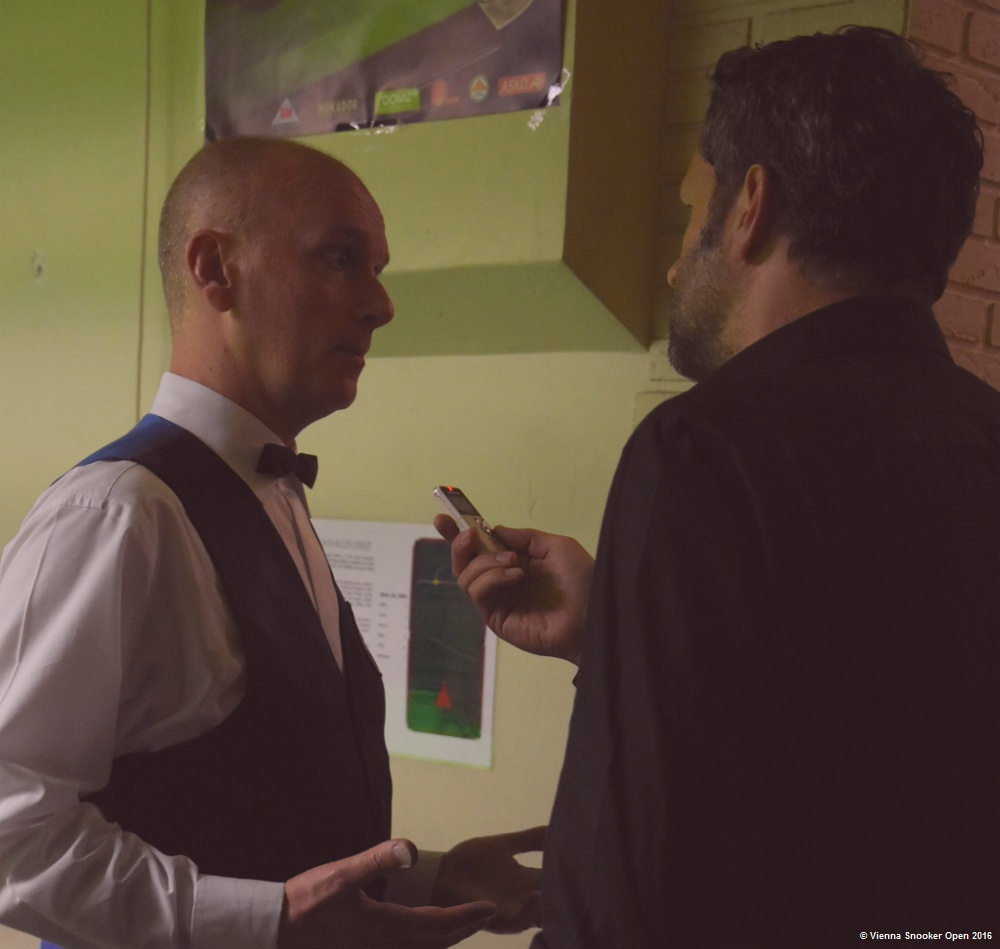 Peter Ebdon interviewed by Peter Ebdon